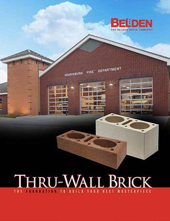 Thru-Wall Structural Brick Brochure