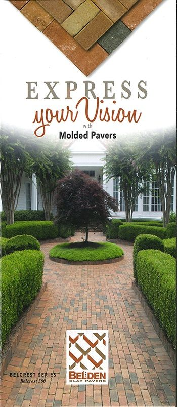 Molded Clay Pavers Brochure