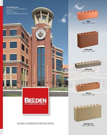 Oversized Brick Brochure