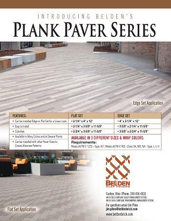 Plank Paver Series